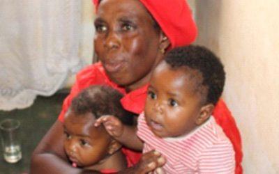 A Grandmother and her Grandchildren